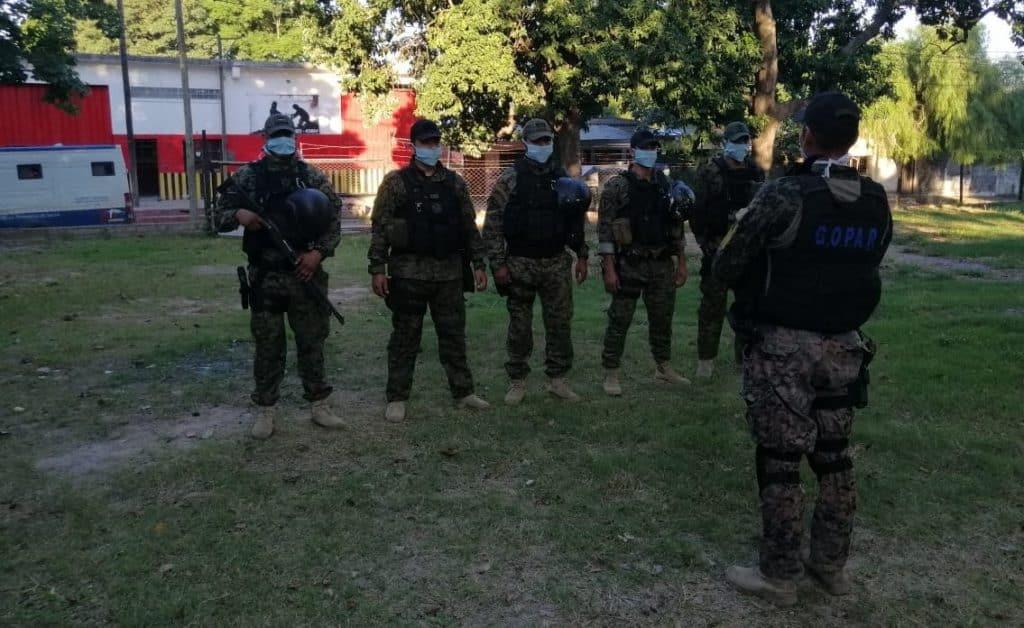 Unidades Especiales de la Policía refuerzan los controles en localidades fronterizas