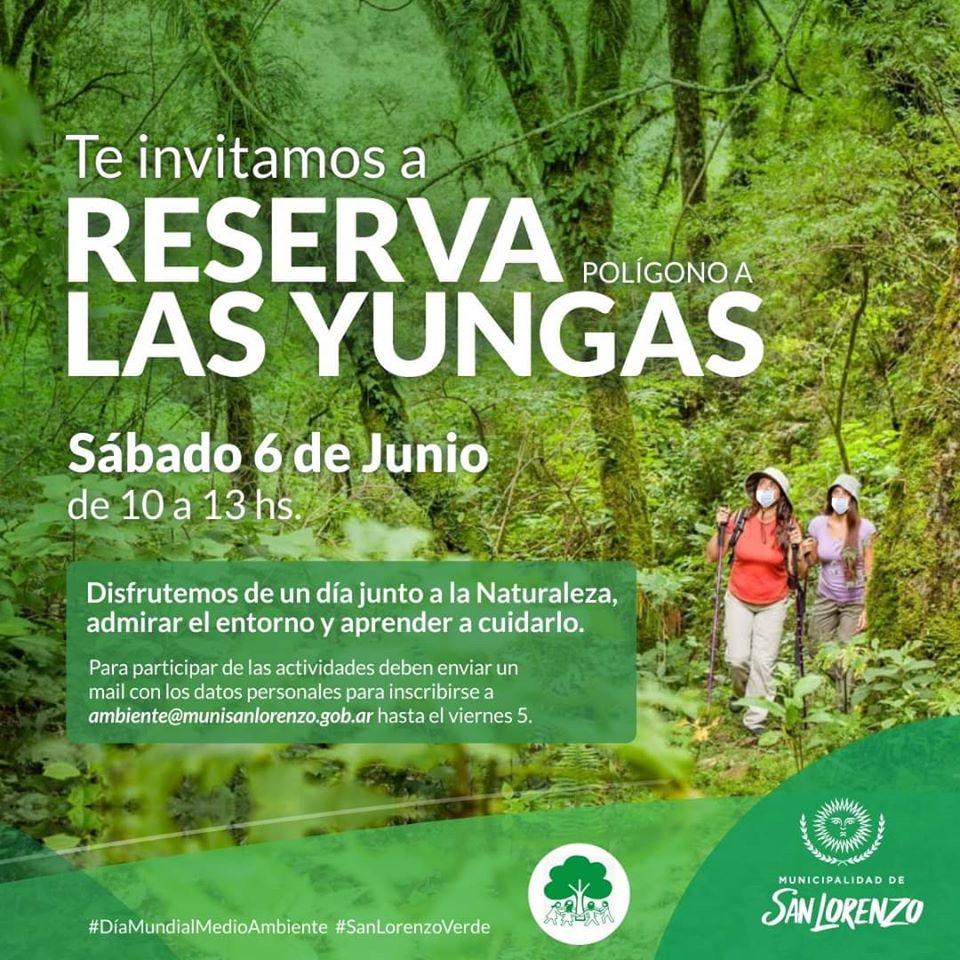 San Lorenzo: Día mundial del Medioambiente