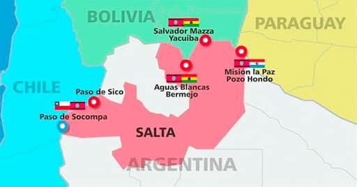 Frontera con Bolivia