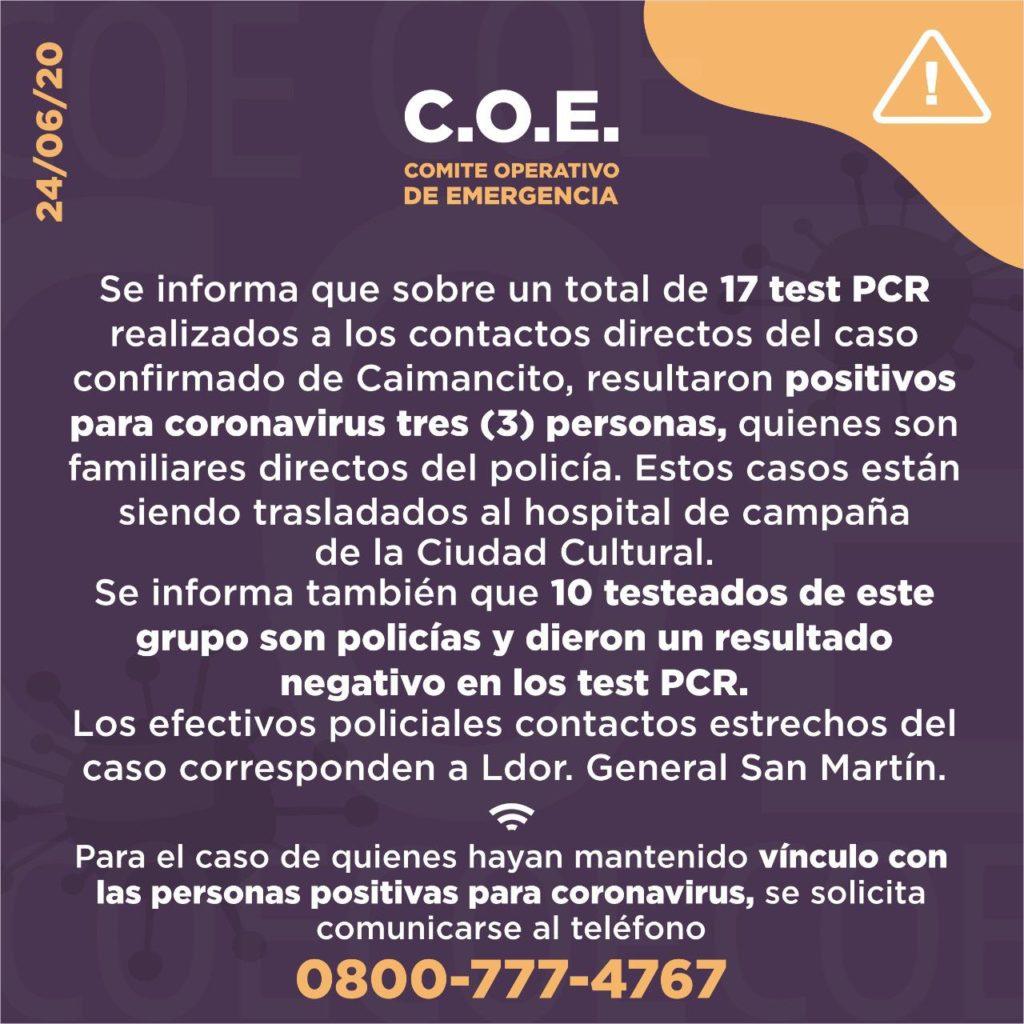 Jujuy complicado con el coronavirus