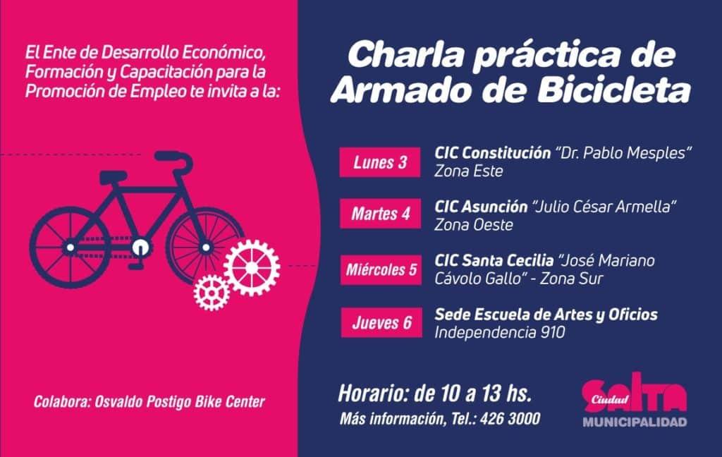 Movilidad Sustentable: charlas para bicicleteros