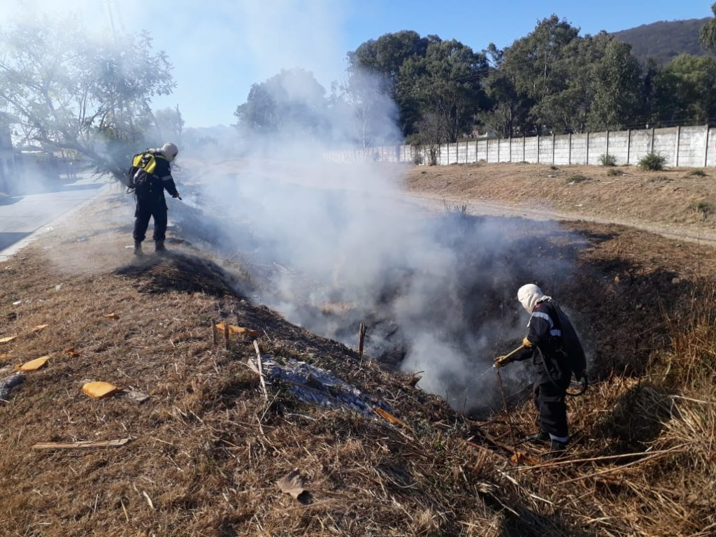 Posibles incendios: recomiendan extremar precauciones