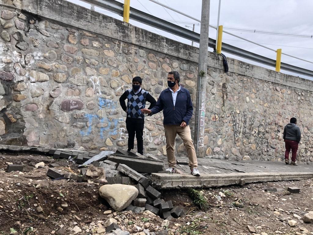 Puente de avenida San Martín: la Municipalidad ordenó su inmediata reparación