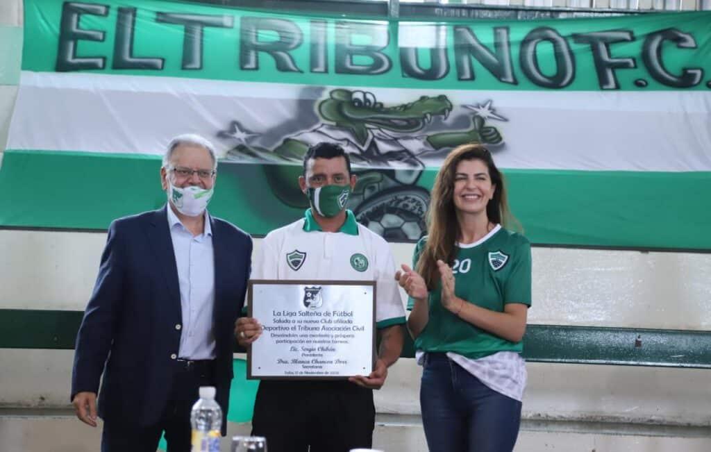 El club El Tribuno quedó afiliado a la Liga Salteña de Fútbol