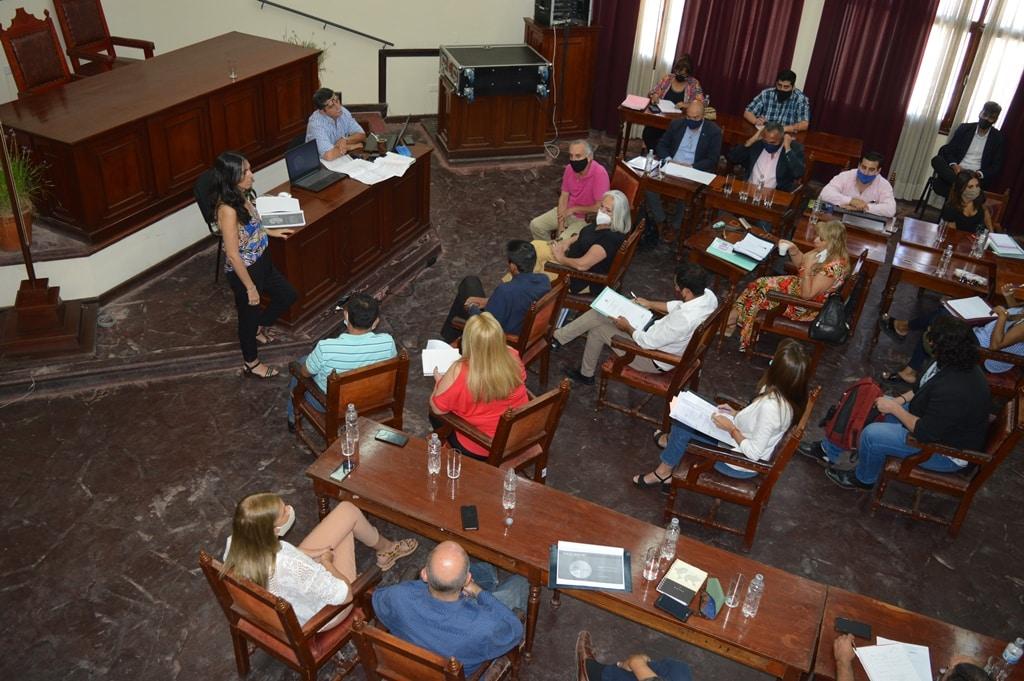 La Municipalidad presentó el Plan de Obras 2021