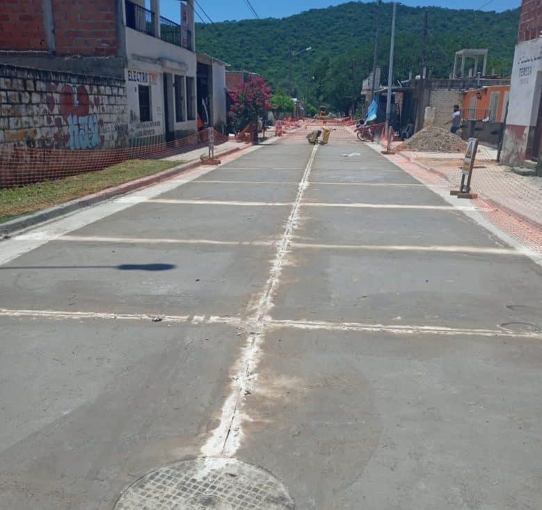 Avanzan las obras de pavimentos integrales