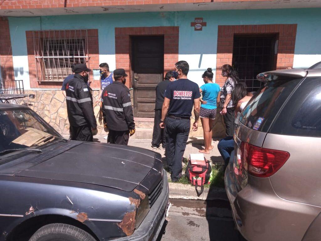 La municipalidad colaboró en la asistencia a damnificados por incendio
