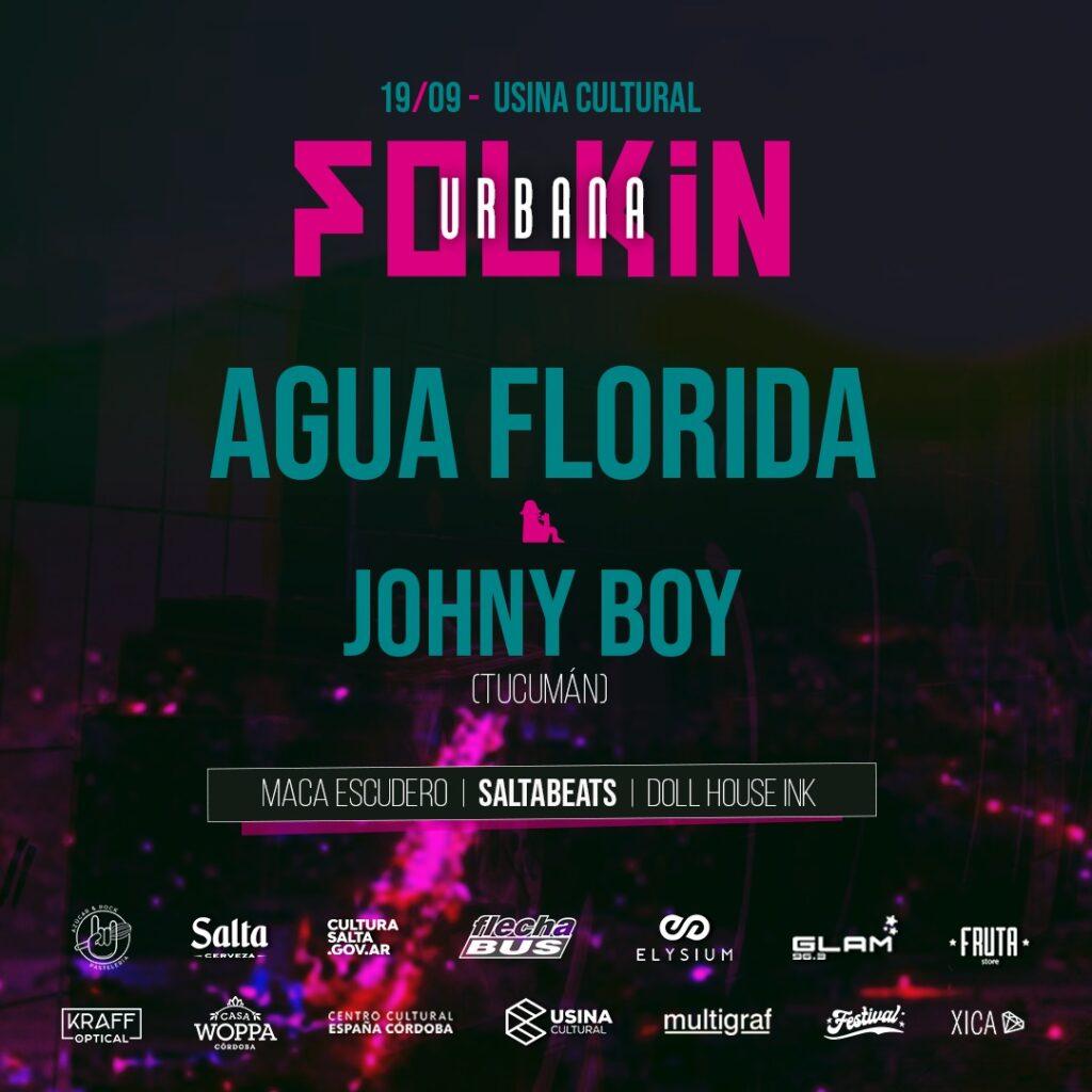 Llega la Folkin Urbana con Agua Florida